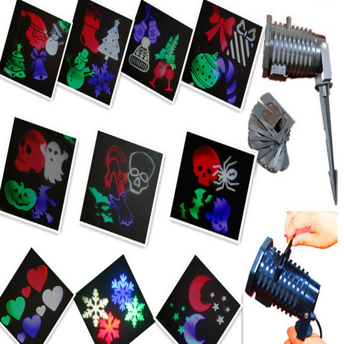 LED holiday projector