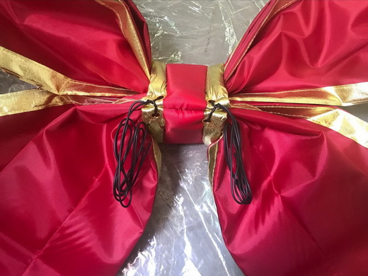 Giant Christmas bows