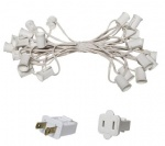 E17 - Intermediate Light Stringer,white wire