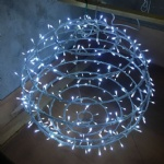 Foldable 3D LED ball